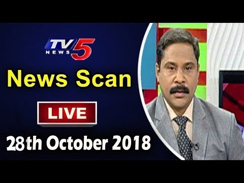 News Scan LIVE Debate With Vijay | 28th October 2018