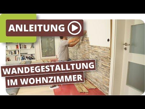 08:43 Wände Im Wohnzimmer Neu Gestalten Mit Planeo Holzriemchen