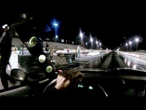 Buick Grand National vs Corvette (Headlights in my mirror)