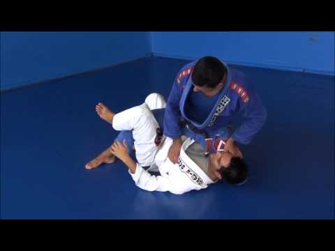 Brazilian Leglock Counter vs the 'Waiter Sweep' from Deep Half Guard Image 1
