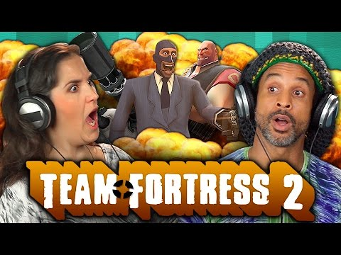 ADULTS PLAY TEAM FORTRESS 2 (Adults React: Gaming)