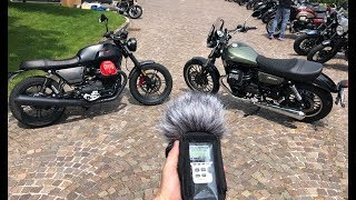 Moto Guzzi V7 vs V9: Which one sounds better?