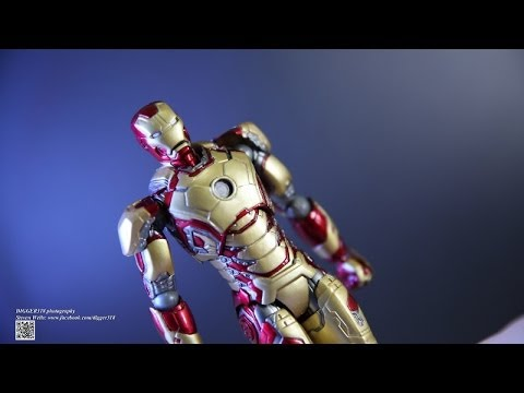 Revoltech Sci fi 049 Iron Man Mark XLII 42 Avengers Review