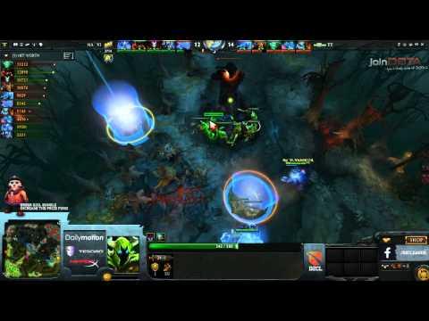 NaVi vs Team Tinker Game 2 Part 2   Dota 2 Champions League TobiWanDOTA