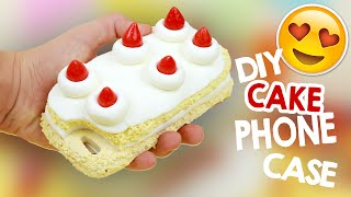 DIY | Strawberry Shortcake Phone Case Tutorial + 100K SUBSCRIBERS! 😍