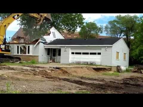 Home Demolition - Down in under 20 min !