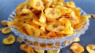 Plantain Chips   How to make plantain chips   Amazin Kitchen