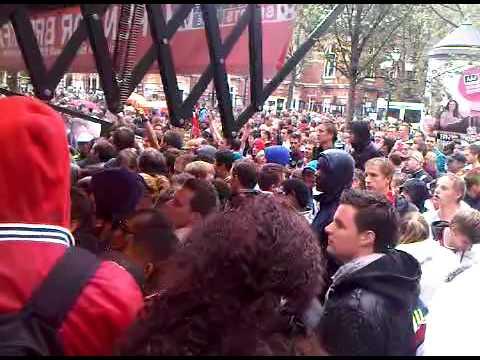 Ajax kampioenswedstrijd leidse