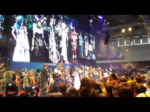 Blizzard Cosplay-Contest Final at Gamescom 2014 (3rd place)