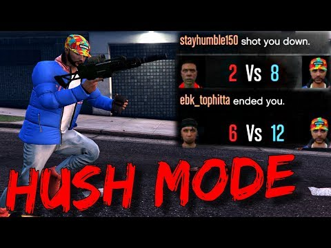 Level 8 Puts 2v1 Trash Talkers in Hush Mode! (GTA 5 Online)