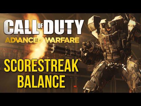 Call of Duty: Advanced Warfare Scorestreak Balance - (CoD AW Multiplayer Gameplay)