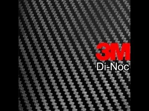 How to Use 3M Di-noc Carbon Fiber Vinyl