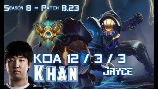 Khan JAYCE vs AATROX Mid - Patch 8.23 KR Ranked