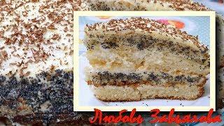 Торт Нежность -рецепт, проверенный годами/Cake Tenderness