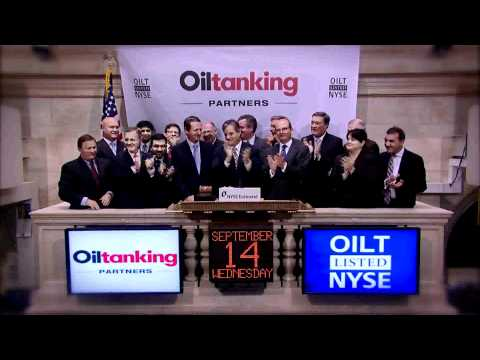14 September 2011 Oiltanking Partners rings the NYSE Opening Bell
