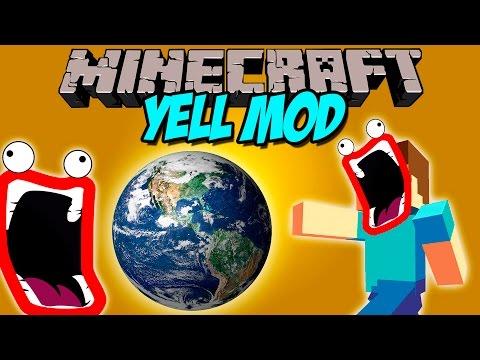 YELL MOD - El mod que destruye el universo! - Minecraft mod 1.8 Review ESPAÑOL