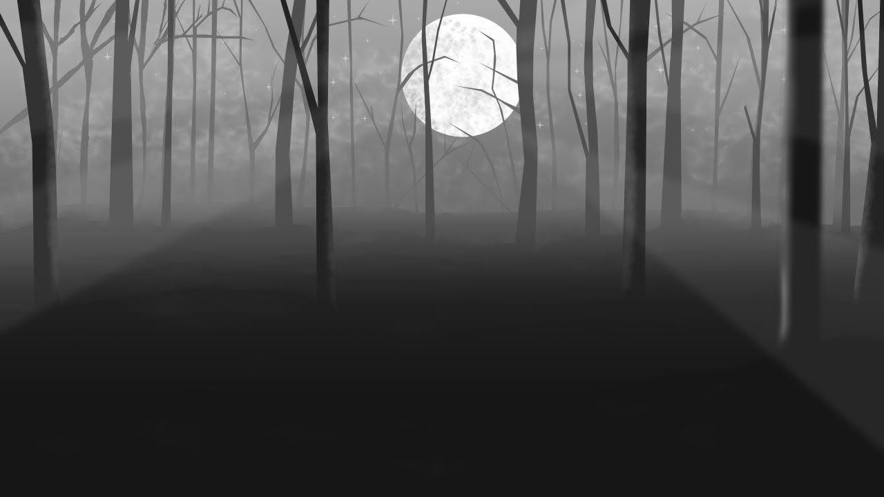 how to draw a forest at night part 1 with manga studio