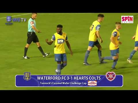 Waterford FC 3-1 Hearts Colts - Tunnock's Caramel Wafer Challenge Cup [6-9-19]