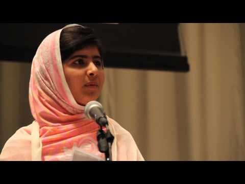 At UN, Malala rallies youth to stand up for universal education