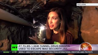 Exclusive: Inside 'luxury' escape tunnel of Mexican drug lord El Chapo