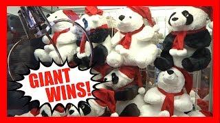 HUGE WINS!! SO MANY PANDA & POLAR BEAR PLUSHIES!!