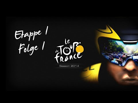 Tour de France 2014 Etappe 1 #1 - Let's Play mit Live Sport