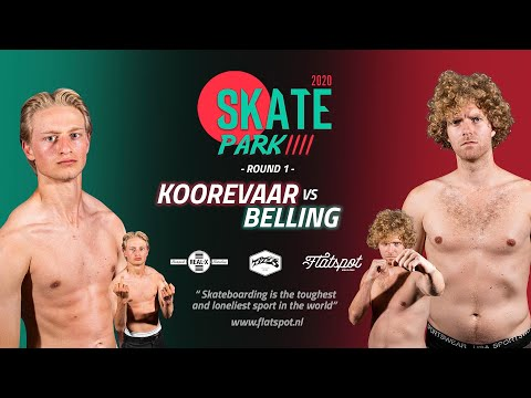 Game of SKATEpark #4 - Game #9 - Jip Koorevaar vs Chris Belling