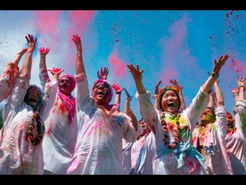 Holi Festival of Colors, India