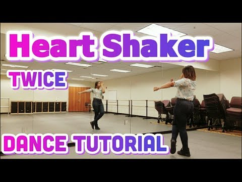 "TWICE ""Heart Shaker"" FULL DANCE TUTORIAL (W/ Tzuyu Helicopter dance)"