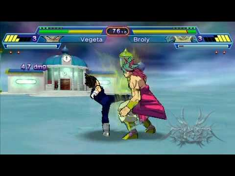 Dragon Ball Z Shin Budokai 2 PSP - RemoteJoy Gameplay