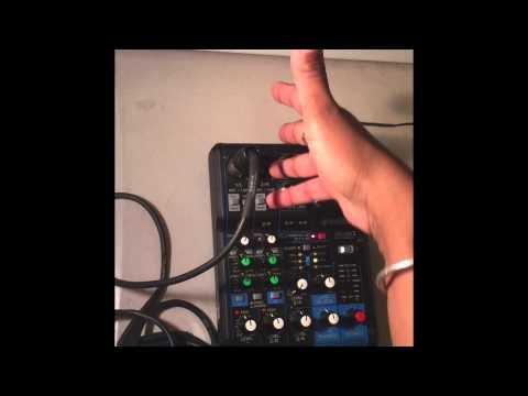 Review / Demo Yamaha MG06X