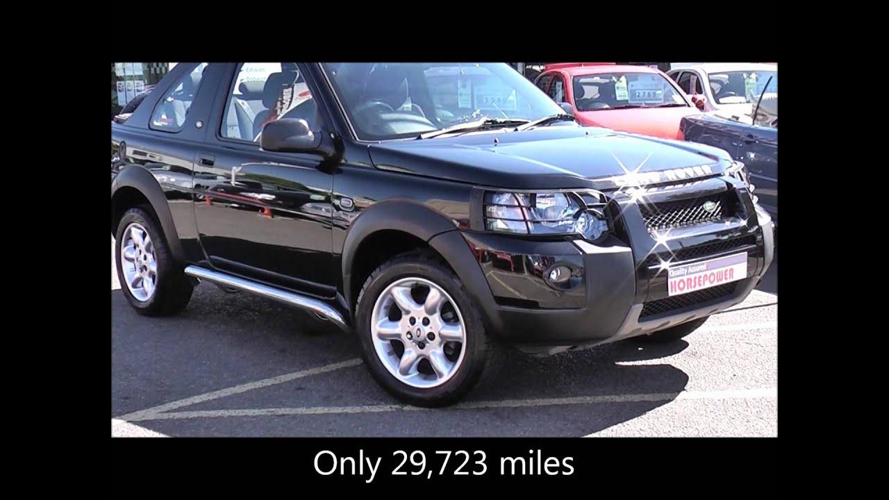 New Land Rover Freelander >> 2005 Land Rover Freelander 1.8 3dr Hard Top - YouTube