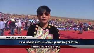 3HMONGTV: KOS LIS & NTXAWM TSAB performed in China for the 2014 Hmong Int'l Hauvtoj Festival