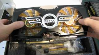 Zotac NVIDIA GeForce GTX 480 AMP! Edition Unboxing & First Look Linus Tech Tips
