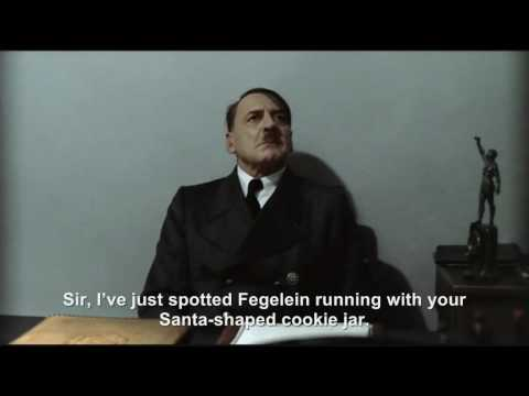Hitler is informed his Christmas cookies have been stolen