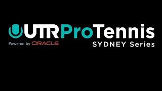UTR Pro Tennis Series Sydney Thursday 2nd July