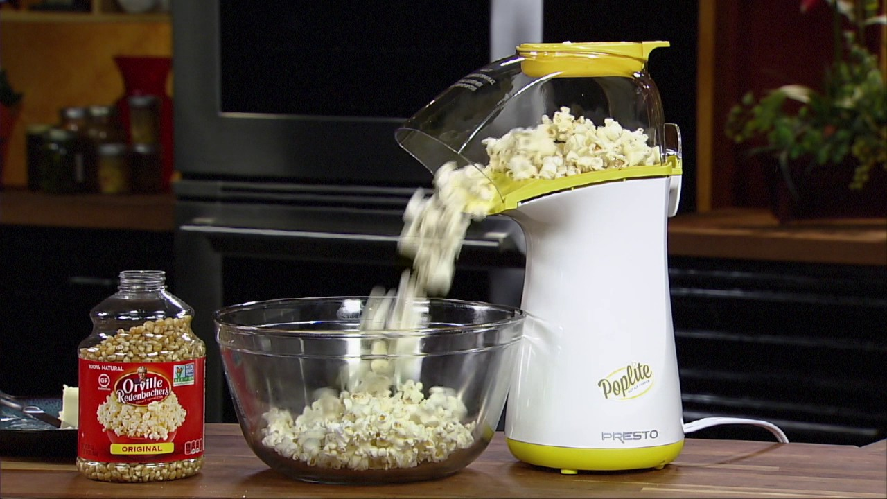 Presto Poplite Hot Air Popcorn Popper Walmartcom Inducedfo