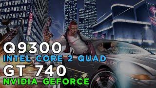 Grand Theft Auto V GTA 5 (2015) Gameplay GeForce GT740 - Intel Core 2 Quad Q9300 - 4GB RAM