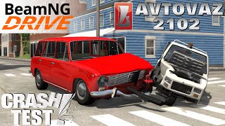 BeamNG.drive AvtoVAZ 2102 Crash Test