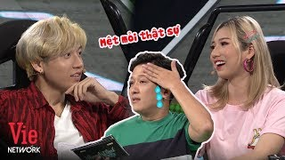 Trường Giang mệt mỏi với cặp đôi siêu bựa Lê Hùng - Bạch My | Nhanh Như Chớp Mùa 2
