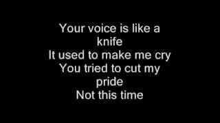 Watch Christina Aguilera Empty Words video