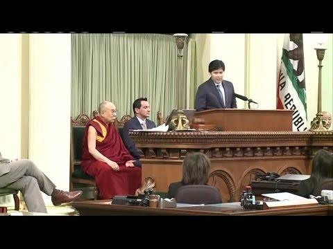 Raw VIdeo: Dalai Lama Speech To California Legislature Joint Session