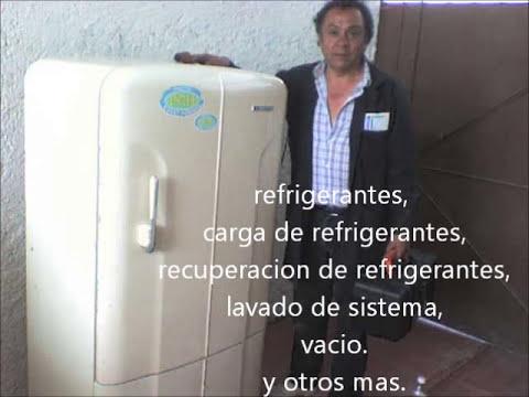 como repara un refrigerador con motocompresor quemado.wmv