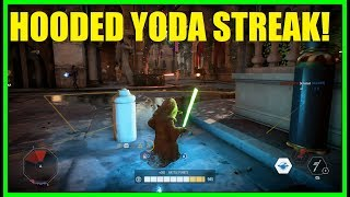 Star Wars Battlefront 2 - Who gets bigger killstreaks? Hooded Yoda or a clone trooper?