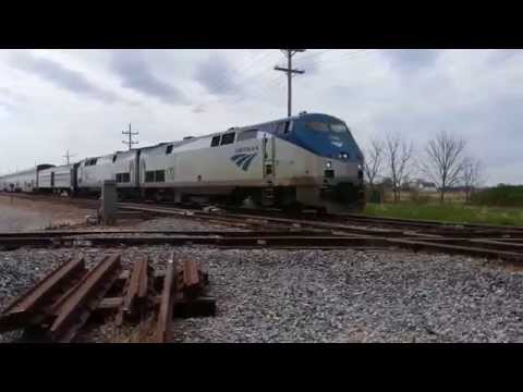 Amtrak CALIFORNIA ZEPHYR at Earlville, IL