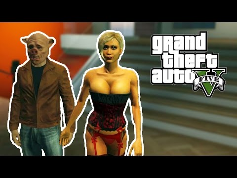 GTA ONLINE - Explodindo Strippers! (GTA 5 Online Gameplay)