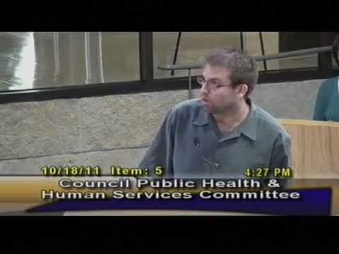 Pt. 2 - Austin Citizens Call for Fluoride Health Warning on Water Bills 10-18-2011