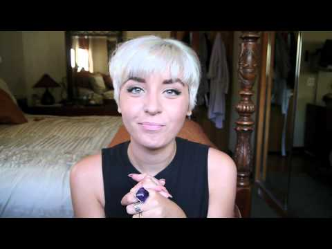All About My Hair! White/Silver Hair Maintenance. Pixie Cuts. + Styling!