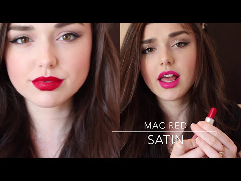 MAC Lipstick Collection + Lip Swatches | Chloé Zadori