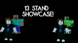 A Bizarre Day showcase - 13 Rare and New stands!